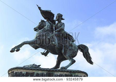 Equestrian Statue Of Archduke Charles, Imperial Palace, Heldenplatz, Vienna