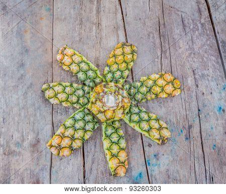 Peel Of Pineapple