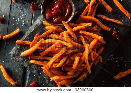 Homemade Orange Sweet Potato Fries