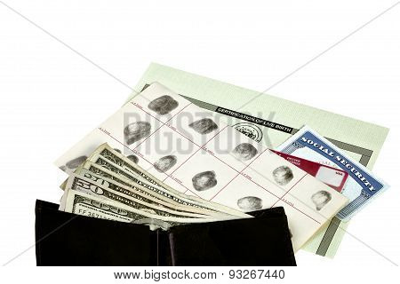 Identity Documents with Wallet and Money