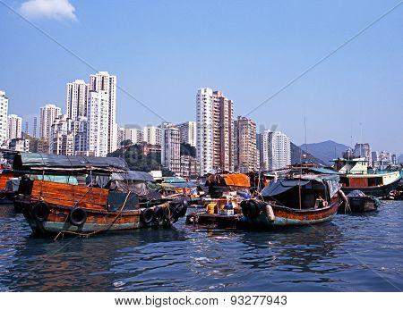Aberdeen Harbour, Hong Kong.