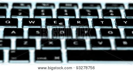qwerty computer keyboard