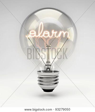 Conceptual Light Bulb (set) - Alarm
