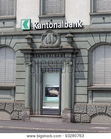 St. Gallen Cantonal Bank Office