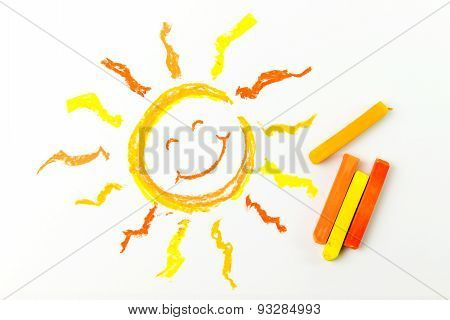 Drawing Of Sun