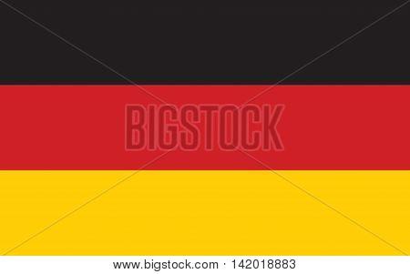 Flag of Germany vector, symbol, germany, illustration, graphic emblem