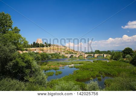 Ciudad Rodrigo - Castle Of Henry Ii Of Castile And Agueda River