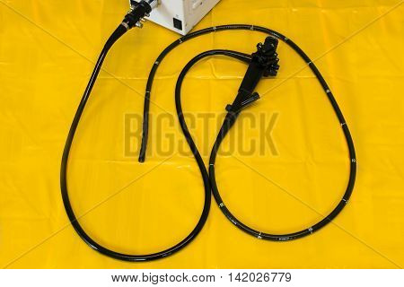 Flexible endoscope medical investigative and surgical tool