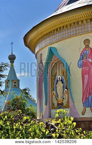 St. Paraskeva-pyatnitsa Monastery. Russian Eclecticism Architecture