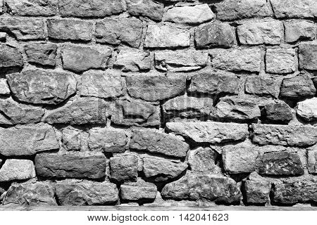 Background texture of stone wall