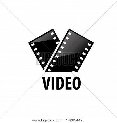 logo design template films. Vector illustration of icon