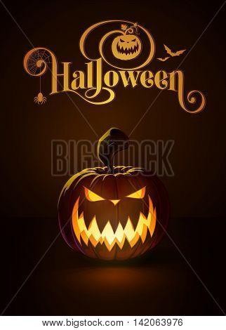Jack-o-lantern Dark Scary