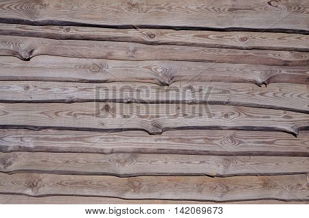 Wooden batten fence for use as a texture