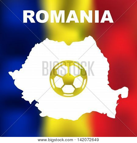 Romanian Abstract Map