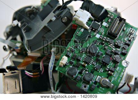 Green Circuit Board 2