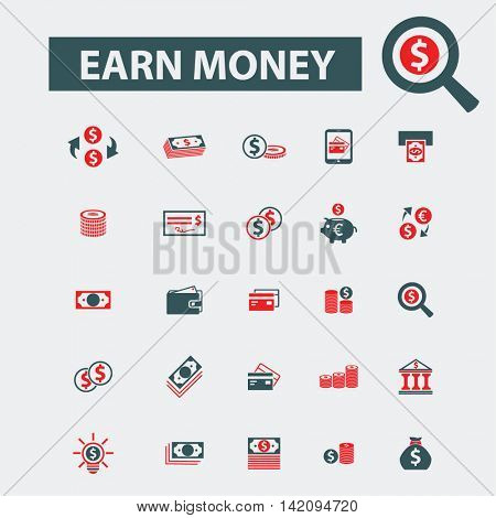 earn money icons