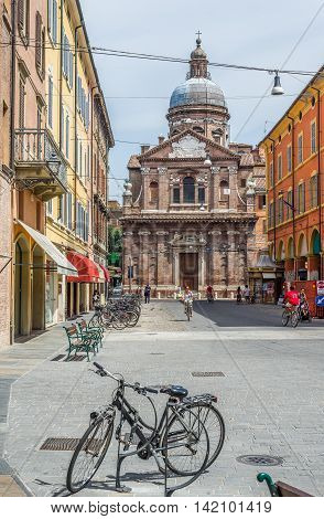Chiesa Della Madonna Del Voto Church Of Modena. Italy.