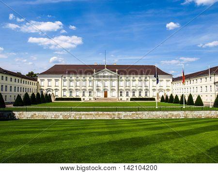 Schloss Bellevue Berlin Hdr