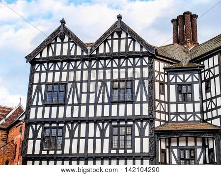 Tudor Building Hdr