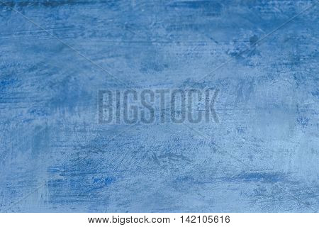 Strokes On Blue Background