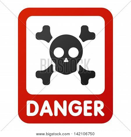 Attention hight voltage icon danger button and attention warning sign. Attention security alarm symbol. Danger warning attention sign with symbol danger zone information and notification icon vector poster