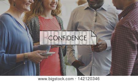Confidence Motivation Inspiration Faith Respect Concept