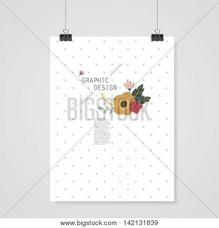 Lovely Poster Template Design