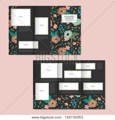Adorable Tri-fold Brochure Design