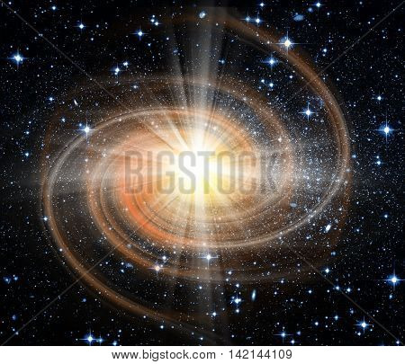 conceptual space image. Furnished NASA image used for this image