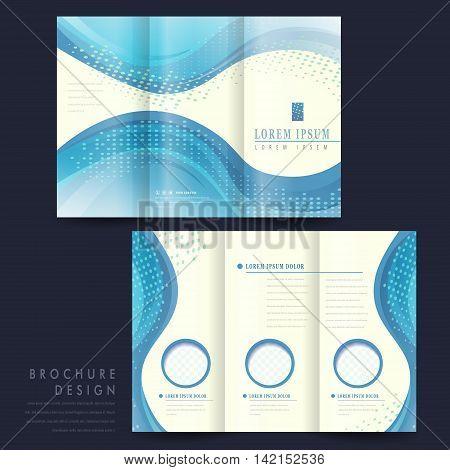 Elegant Tri-fold Brochure Template Design