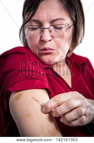 Self Injecting Intravenous Therapy