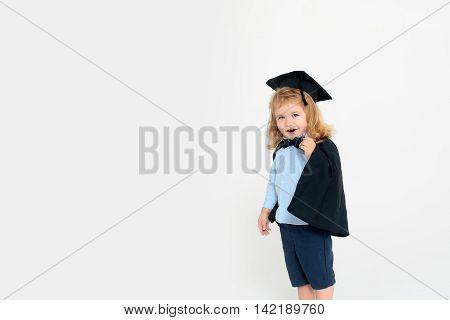 Small Sly Boy Child