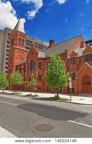 Concordia German Evangelical Church And Rectory Washington Dc
