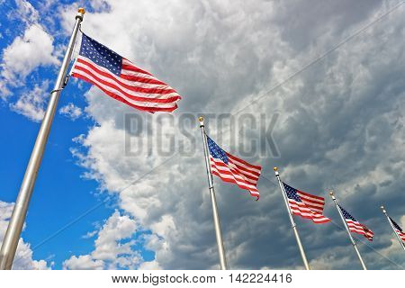Flags Of The United States Of America