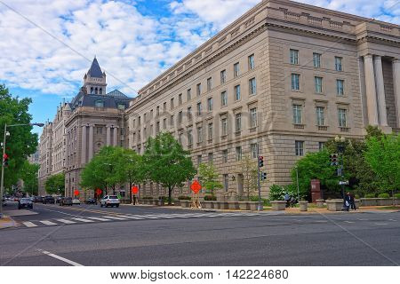 Internal Revenue Service Building In Washington Dc