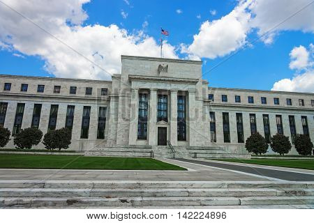 Marriner S Eccles Federal Reserve Board Building Washington Dc