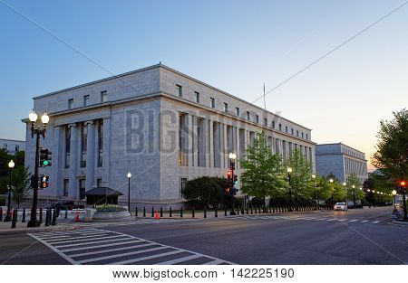 Rayburn House Office Building In Washington