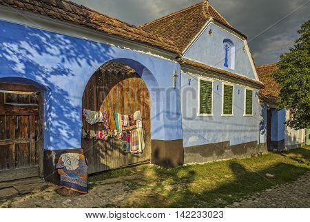 Traditional House In Viscri, Romania