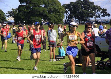 Auckland Half marathon run race