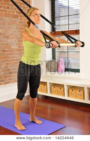 Pilates Bar Exercise At Home