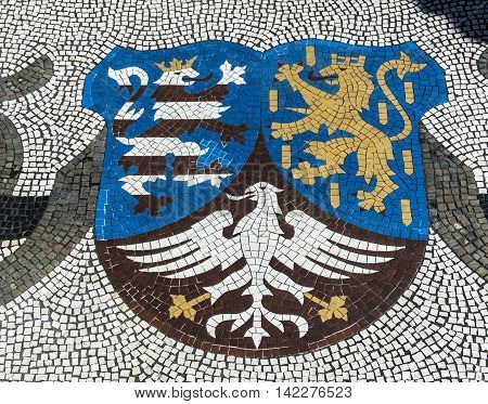 Emblem Of State Of Hesse