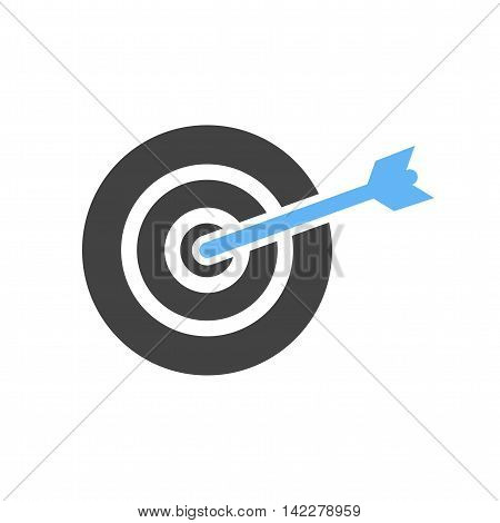 Target, success, accuracy icon vector image. Can also be used for finances trade. Suitable for web apps, mobile apps and print media.