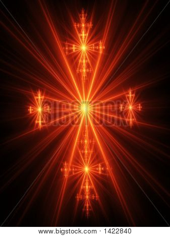 Fire Ray Cross Of Easter
