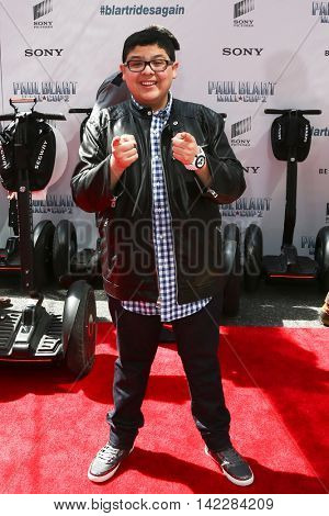 NEW YORK-APR 11: Actor Rico Rodriguez attends the world premiere of