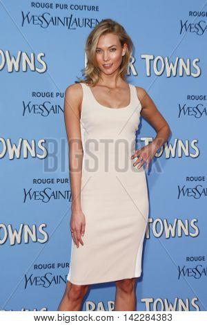 NEW YORK-JUL 21: Model Karlie Kloss attends the