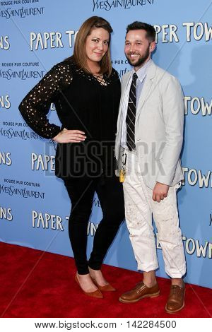 NEW YORK-JUL 21: Designer Chris Benz (R) and Michelle Collins attend the