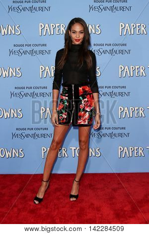 NEW YORK-JUL 21: Model Joan Smalls attends the