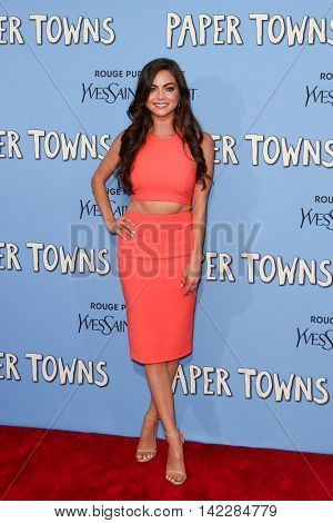 NEW YORK-JUL 21: Actress Caitlin Carver attends the