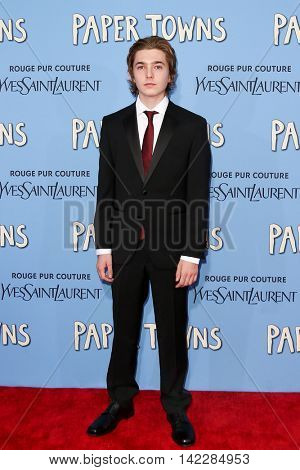 NEW YORK-JUL 21: Actor Austin Abrams attends the