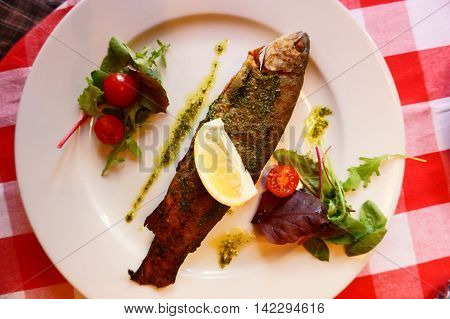 Grilled Trout Fish